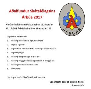 aðalfundur 2017